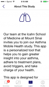 Asthma App